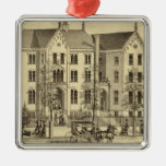 Pittsburgh Female College Pittsburgh Christmas Tree Ornament