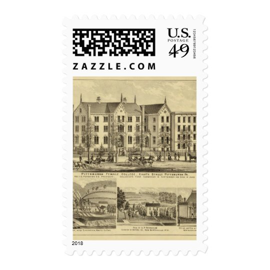 Pittsburgh Female College Pittsburgh Postage
