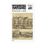 Pittsburgh Female College Pittsburgh Stamp