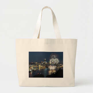 Pittsburgh Fireworks Canvas Bags