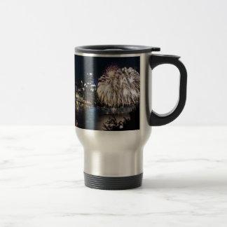 Pittsburgh Fireworks Travel Mug