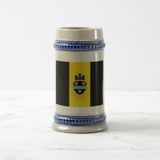 Pittsburgh Flag Beer Stein