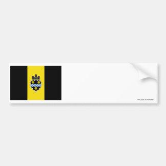 Pittsburgh Flag Bumper Sticker
