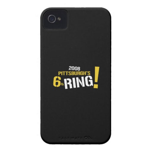 Pittsburgh Football iPhone 4/4S Case-Mate B.T. iPhone 4 Case-Mate Case