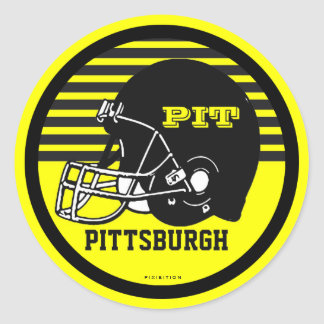 Pittsburgh Football Sticker