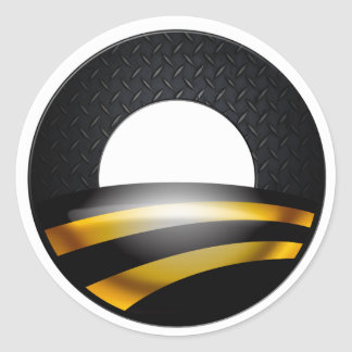 Pittsburgh for Obama Classic Round Sticker