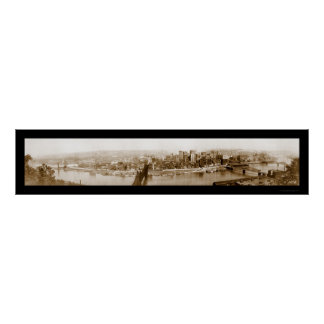 Pittsburgh, foto 1920 del PA Poster