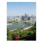 Pittsburgh from Mt Washington Post Card
