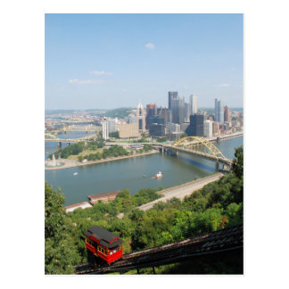 Pittsburgh from Mt Washington Postcard