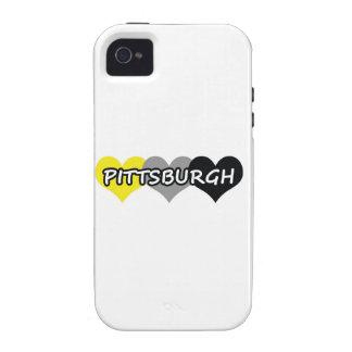 Pittsburgh iPhone 4/4S Carcasa