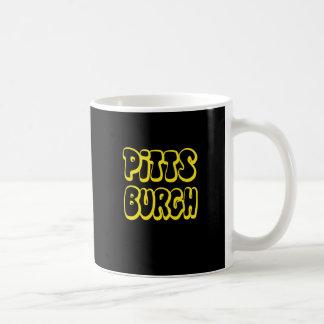 Pittsburgh Gear Classic White Coffee Mug