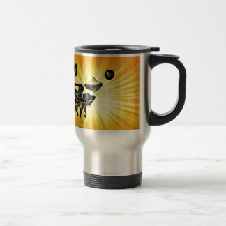 Pittsburgh Grunge Duck Travel Mug