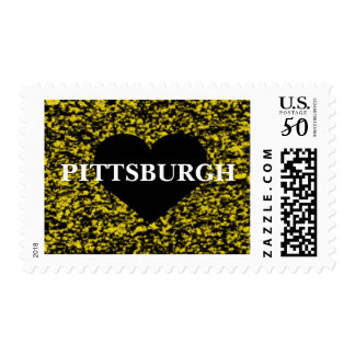 Pittsburgh Heart Postage