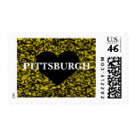 Pittsburgh Heart Stamps