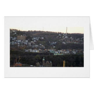 Pittsburgh Hillside Stationery Note Card