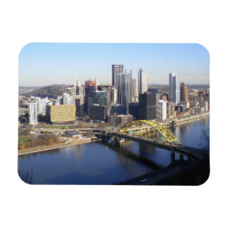 Pittsburgh Imán Rectangular