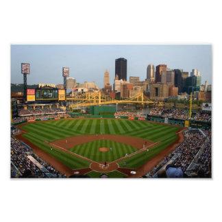 Pittsburgh imprime la opinión del béisbol impresiones fotográficas