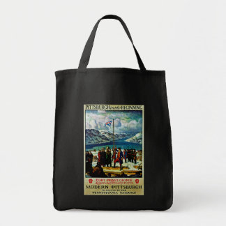 Pittsburgh in the Beginning Tote Bag