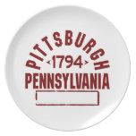 Pittsburgh inc. platos de comidas