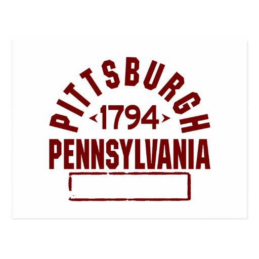Pittsburgh inc. postal