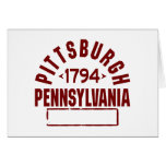 Pittsburgh INC Stationery Note Card