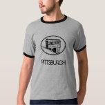 Pittsburgh Incline Grey T-Shirt