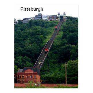 -Pittsburgh-Incline-Photo Postcards