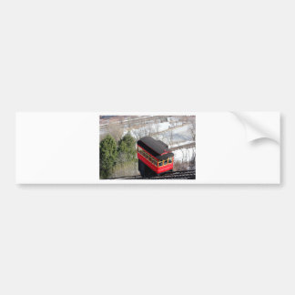 Pittsburgh Incline Plane Bumper Sticker