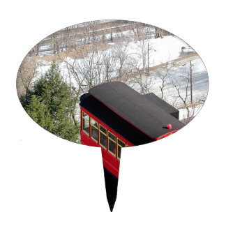 Pittsburgh Incline Plane Cake Topper
