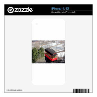 Pittsburgh Incline Plane Skin For iPhone 4