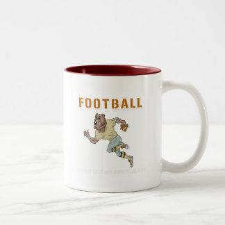 Pittsburgh Inner Beast Two-Tone Coffee Mug