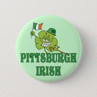 Pittsburgh Irish Button