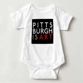 Pittsburgh is Art Infant Creeper