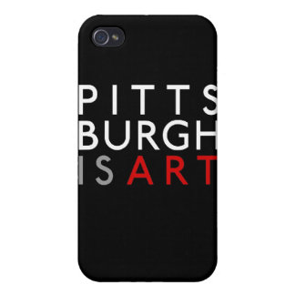 Pittsburgh is Art iPhone 4 Case