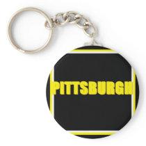 Pittsburgh Keychain