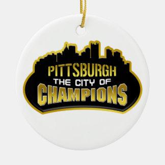 Pittsburgh la ciudad de campeones ornamentos de reyes magos