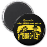 Pittsburgh Left Refrigerator Magnets