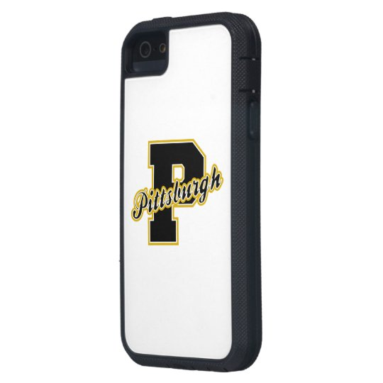 Pittsburgh Letter iPhone SE/5/5s Case