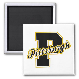 Pittsburgh Letter Refrigerator Magnets