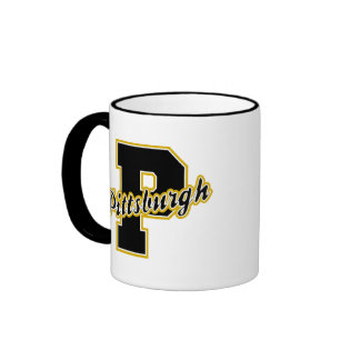 Pittsburgh Letter Ringer Mug