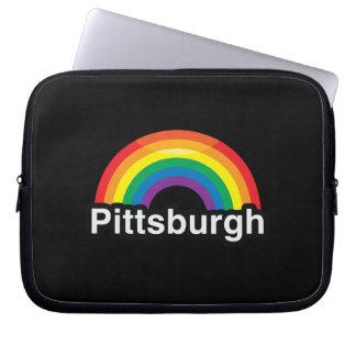PITTSBURGH LGBT PRIDE RAINBOW LAPTOP SLEEVES
