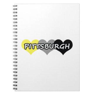 Pittsburgh Libretas Espirales
