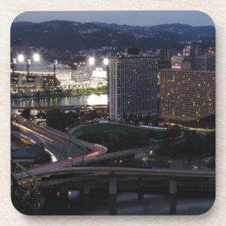 Pittsburgh Light Trails Coaster