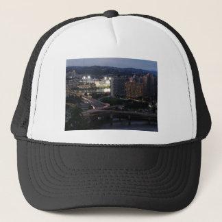 Pittsburgh Light Trails Trucker Hat