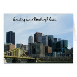 Pittsburgh love notecards stationery note card