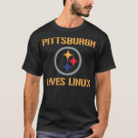 Pittsburgh Loves Linux T-Shirt