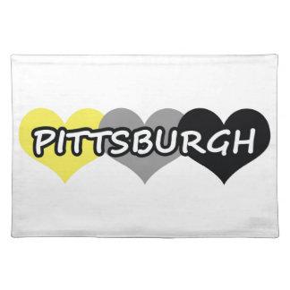 Pittsburgh Manteles Individuales