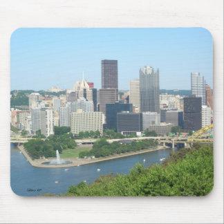 Pittsburgh Mousepad Alfombrillas De Ratón