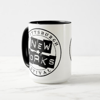 Pittsburgh New Works Festival Coffee Mug