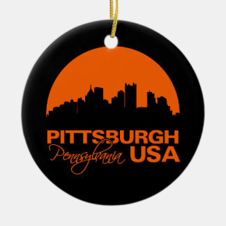 PITTSBURGH ornament - customizable